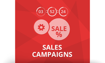 Picture of NopCommerce  SALES CAMPAIGNS