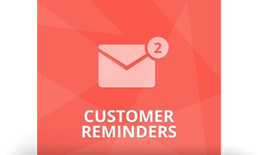 Picture of NopCommerce CUSTOMER REMINDERS