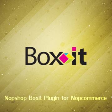Picture of nopCommerce boxit plugin